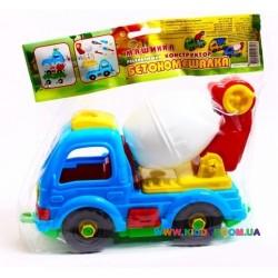Конструктор Бетономешалка Toys Plast ИП.29.001