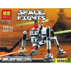 Конструктор Star Wars Самонаводящийся дроид-паук 102 дет. Bela 10364