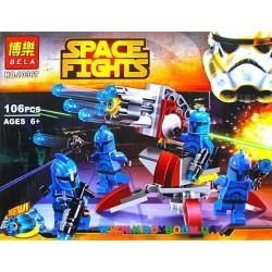 Конструктор Star wars Элитное подразделение Коммандос Сената 106 дет. Bela 10367