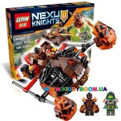"""Конструктор Nexo Knights """"Лавинный разрушитель Молтора"""", 198 дет Lepin 14003"""