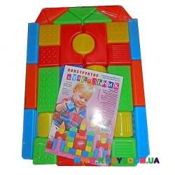 Конструктор Строитель Toys Plast ИП.28.000