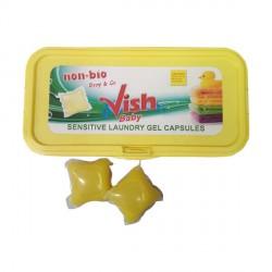 Гель для стирки в капсулах Vish Baby Laundry Gel Capsules12 шт. по 30гр