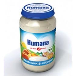 Пюре Нumana персик-маракуйя с йогуртом 190 гр