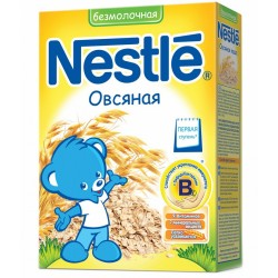 Каша безмолочная Nestle овсяная каша (с 5 мес.) 200гр