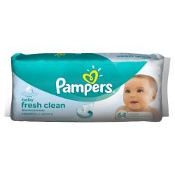 Салфетки Pampers увлажненные Baby fresh+алое 64 шт.