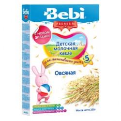 Каша молочная Bebi овсяная (с 5 мес.) 250 гр