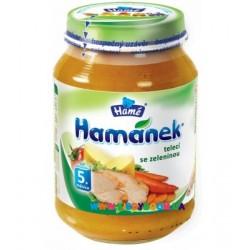 Пюре телятина с овощами 190 г Hame 1215874