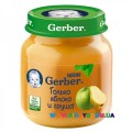 Пюре Gerber Яблоко, груша (с 4 мес.) 130 гр