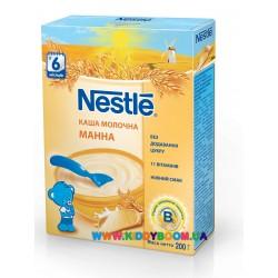 Молочная манная каша 200 гр Nestle 12283551