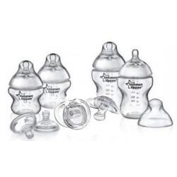 Набор из четырех бутылочек ТМ Tommee Tippee CTN 260 мл 2 шт.  CTN 150 мл 2 шт.