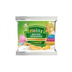 Печенье детское Heinz 6 злаков (с 6 мес.) 60 гр.