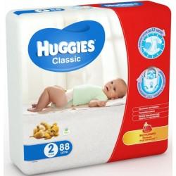 Подгузники Huggies Classic 2 (3-6 кг) 88 шт.