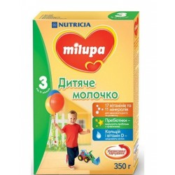 Сухое детское молочко Nutricia Milupa 3 350 гр.