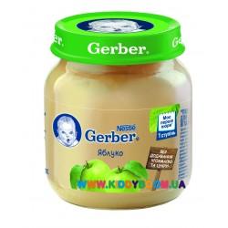 Пюре Gerber Яблоко (с 4 мес.) 130 гр.