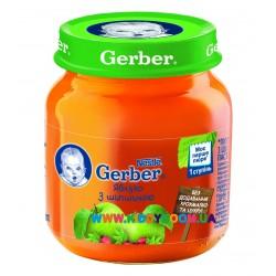 Пюре Gerber Яблоко, шиповник (с 5 мес.) 130 гр.