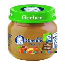 Пюре Gerber Персик (с 4 мес.)  80 гр.