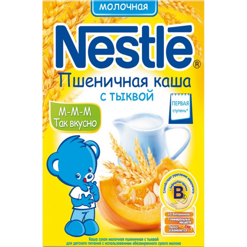dcd02a4c273b5c Каша молочная Nestle пшеничная с тыквой (с 5 мес.) 250 гр. купить в ...