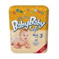 Подгузники BabyBaby Soft Premium Midi 3 (4-9 кг) 22 шт.