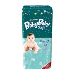 Подгузники BabyBaby Soft Premium Maxi 4 (7-18 кг) 50 шт.
