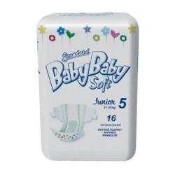 Подгузники BabyBaby Soft Стандарт Junior 5 (12-25 кг) 16 шт.