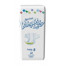 Подгузники BabyBaby Soft Стандарт Junior 5 (12-25 кг) 44 шт.
