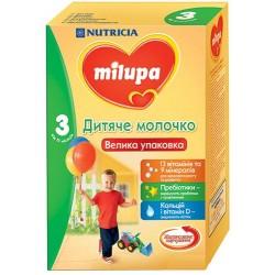 Молочная смесь Nutrica Milupa 3, 600 гр