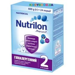 Сухая молочная смесь Nutrilon 2 гипоаллергенный 600 гр.
