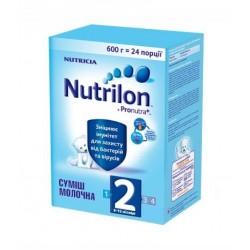 Сухая молочная смесь Nutrilon 2 с пребиотиками 600 гр.
