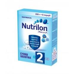 Сухая молочная смесь Nutrilon 2 с пребиотиками 200 гр.