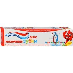 """Зубная паста детская """"Молочные зубки"""" 3-5 лет 50 мл Aquafresh"""