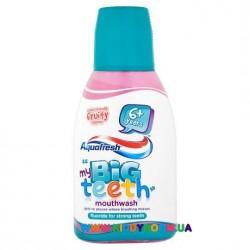 Детский ополаскиватель для рта My Big Teeth с 6 лет, Aquafresh 300мл.