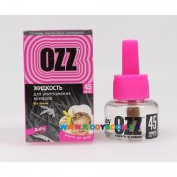 Жидкость для уничтожения комаров 45 ночей, 30 мл OZZ Baby