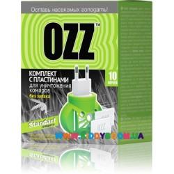 Комплект с пластинами для уничтожения комаров 10 ночей, 10шт Ozz
