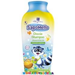 Детский шампунь и гель для душа Банан, 250 мл SapoNello 13478