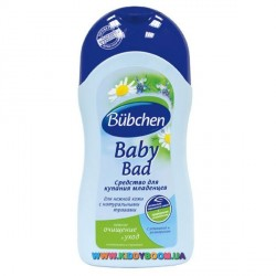 Средство для купания младенцев Bubchen 400 мл.