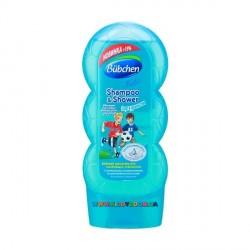 Шампунь для мытья волос и тела «Спорт и удовольствие» Bubchen 230 мл.