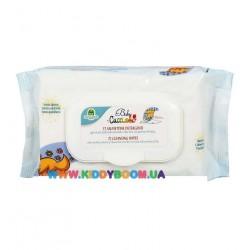 Очищающие салфетки 72 шт Cucciolo 0714