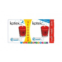 Гигиенические прокладки Kotex Ultra Night Duo Pads, 14 шт.