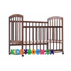 Кроватка детская Ласка-М Лама без ящиков тонированная  KB-01.LA-O2