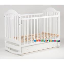 """Детская кровать """"Наполеон NEW"""" белый Ласка-М KB-01.NNY04"""