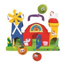 Игровой набор Ферма-лабиринт Kiddieland 051672