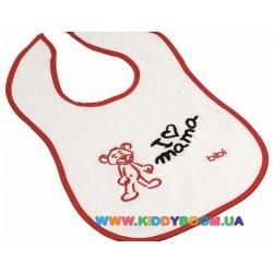 Нагрудник детский с вышивкой Bibi 103313