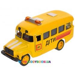 Автомодель Детский автобус КАВЗ Технопарк CT10-069-5
