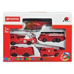 Набор пожарной техники MeiSheng MS6004