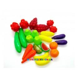 Набор Фрукты-овощи 24 шт. Orion toys 518