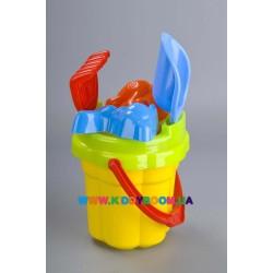 Набор для игр в песке «Ромашка» Toys Plast ИП.21.002