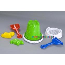 Набор для игр в песке «Замок» Toys Plast ИП.21.003