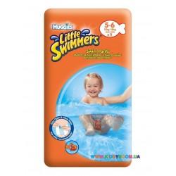 Подгузники для плавания Huggies Little Swimmers 5-6 (12-18 кг) 11 шт