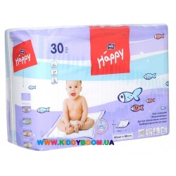Пеленки 60*60 см 30 шт. Bella Happy 68А05756