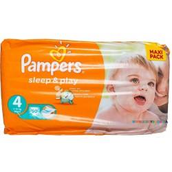 Подгузники Pampers Sleep & Play 4 maxi (7-14 кг) 50 шт